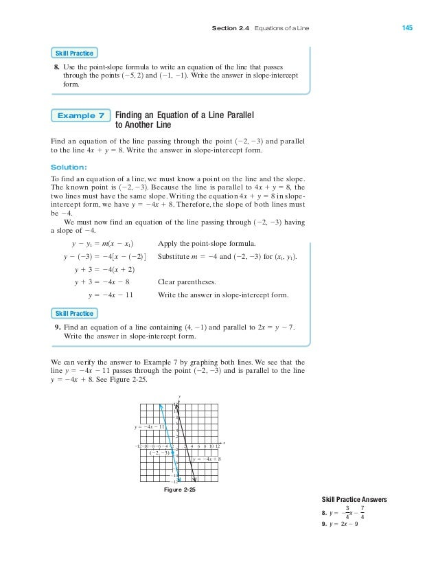 Point Slope Form Answers Barearsbackyard