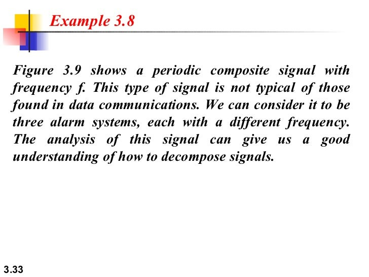 Chapter 3 - Data and Signals