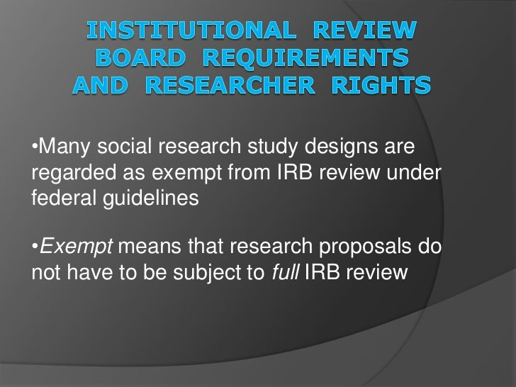 IRB Forms & Examples at MSU Moorhead