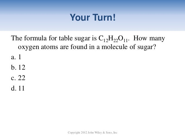 Nwtc general chemistry ch 03 41 your turnthe formula for table sugar urtaz Images