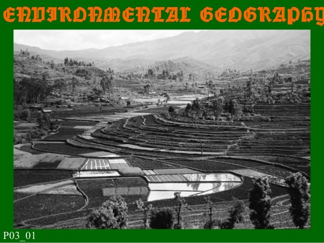 ENVIRONMENTAL GEOGRAPHY P03_01