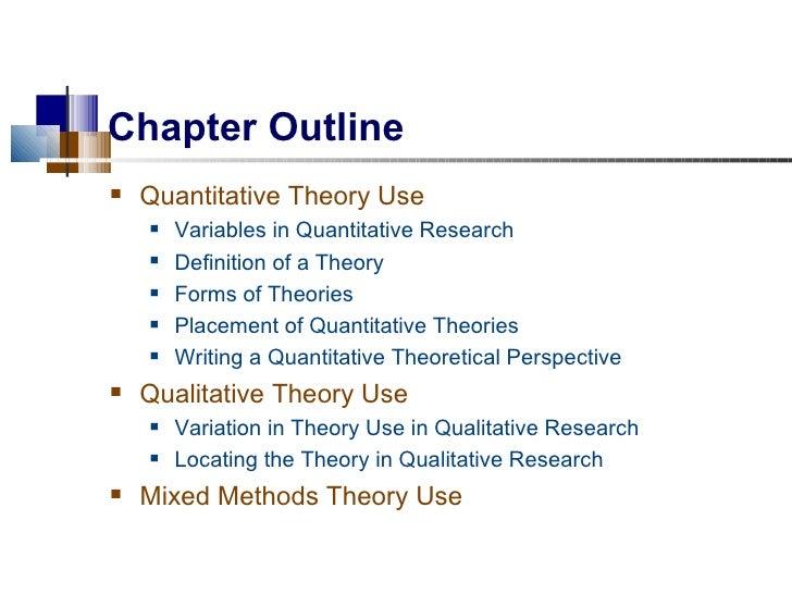 theory used