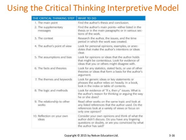 how does psychological research rely on critical thinking skills This study aimed at investigating the relationship between critical thinking with  emotional intelligence  critical thinking skills are among 21st century skills and  it seems crucial  it is said that success and skill acquisition depend on multiple.