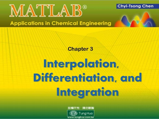 Ch 03 MATLAB Applications in Chemical Engineering_陳奇中教授
