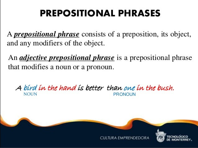 Ch 03 Prepositional Phrases Appositives Verbals Ppp