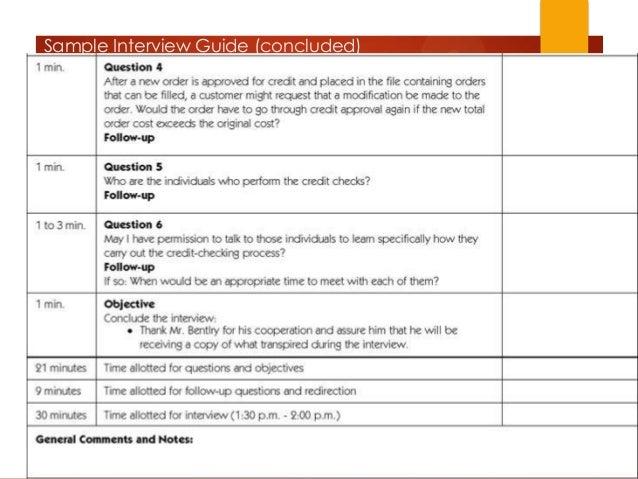 System Analysis Fact Finding Methods