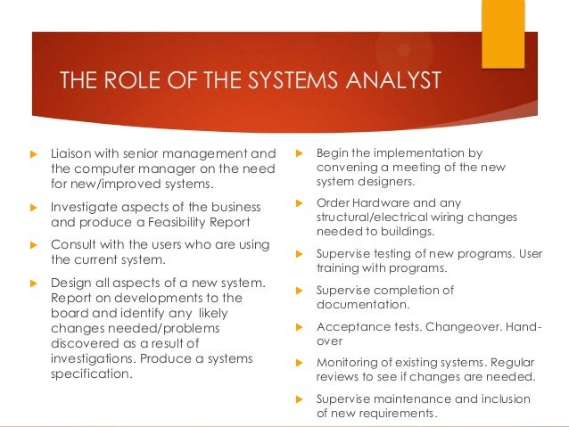 System Analysis Fact Finding Methods