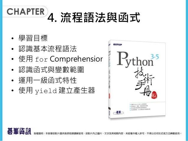 流程語法與函式 Slide 2