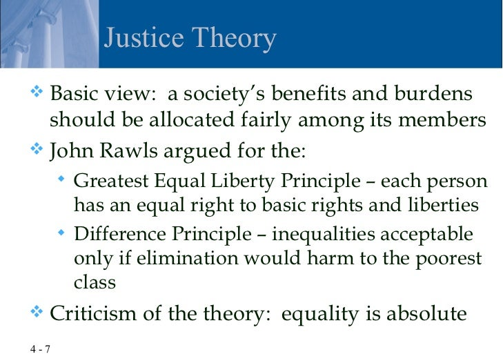 rawls liberty and difference principle