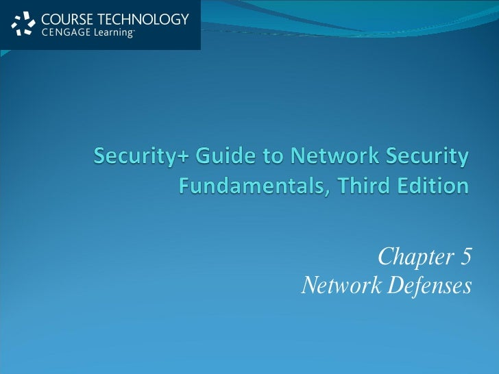 Chapter 5 Network Defenses