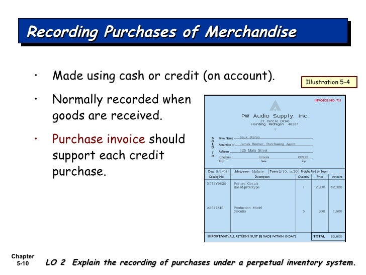 accounting for merchandising operations Cost of goods sold, cogs, gross margin, merchandise inventory, operating  t- accounts of transactions for the second illustration of accounting for inventory.
