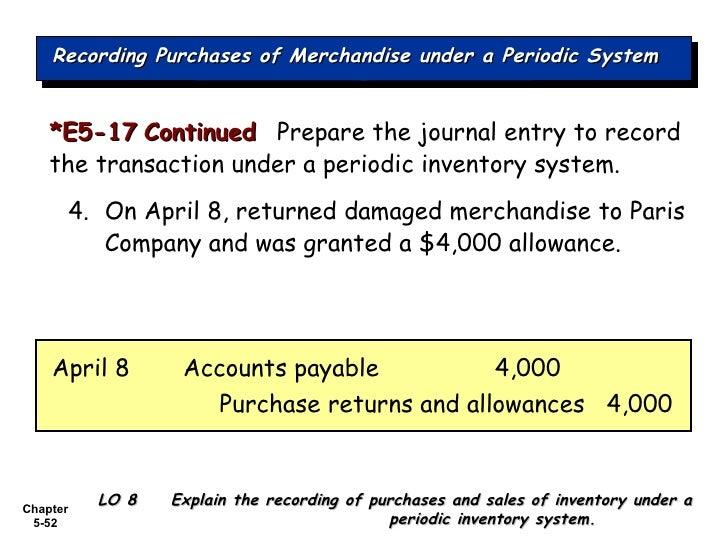merchandising operations accounting