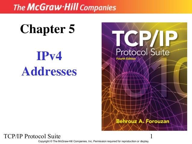 Chapter 5        IPv4      AddressesTCP/IP Protocol Suite                                                                 ...