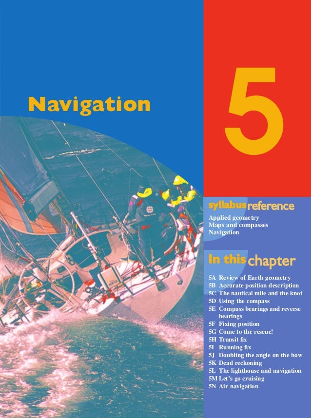 Maths A Yr 12 - Ch. 05 Page 231 Friday, September 13, 2002 9:22 AM  5  Navigation  syllabus reference eference Applied geo...