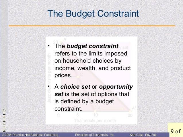 consumer choice economics definition