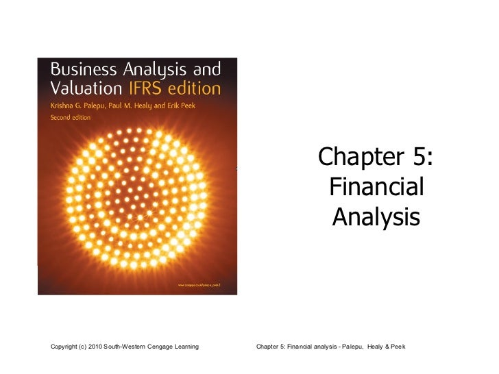 Chapter 5:  Financial  Analysis