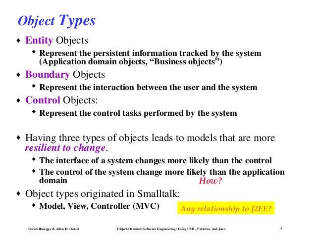 object model in software engineering pdf