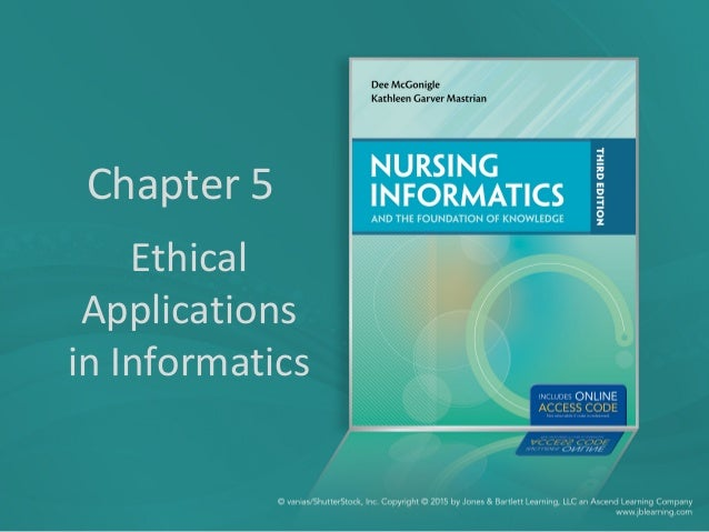 Chapter 5 Ethical Applications in Informatics