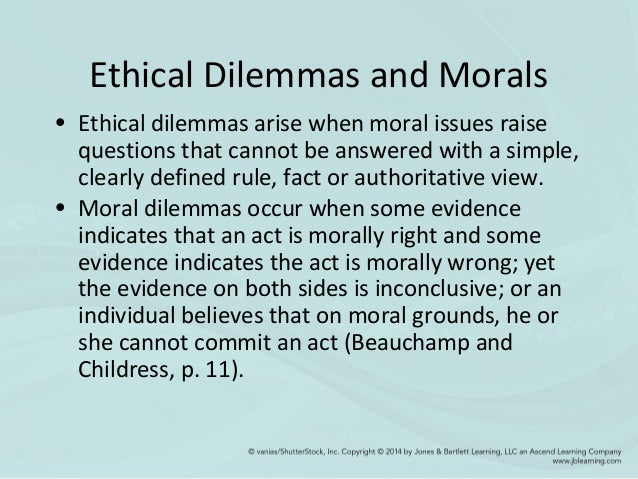 ethical dilemma in aged care Culture change in nursing homes: an ethical perspective  disclose relationships that may impact patient care or decisions 7 truth.