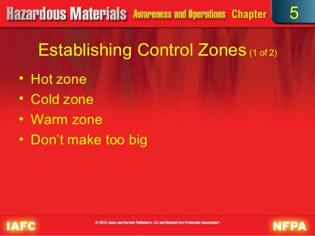 What zone should an EMT conduct a patient assessment in ... |Haz Mat Zones