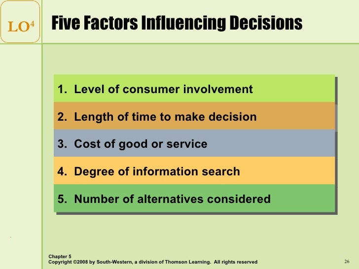 factors influencing the decision making regarding Factors that influence students' desires to attend higher education shawn lea temple the purpose of this study was to determine the factors that influenced students' decision about higher it is necessary to determine what factors students think about when making decision related to.