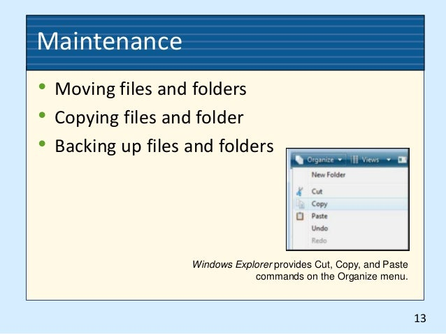 how to organize electronic documents for shared drive networks