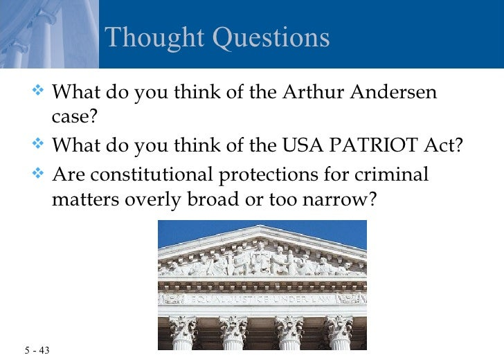 """the constitutional nature of the usa patriot act The unconstitutional patriot act  the part of the """"usa patriot"""" act that makes it illegal to give """"expert advice or assistance  regardless of its nature."""