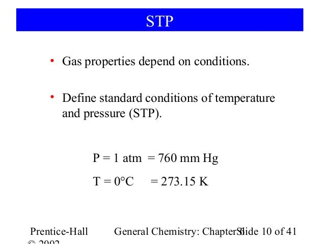 chemistry gas laws