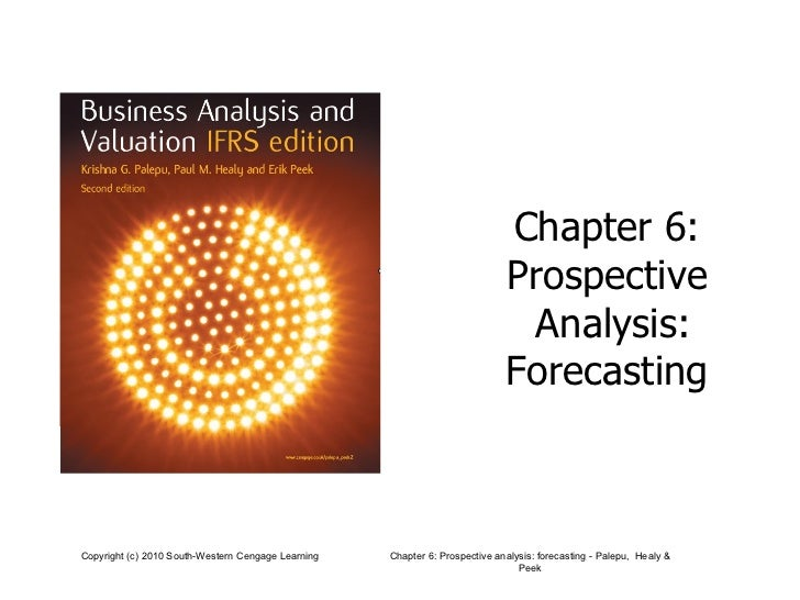 Chapter 6:  Prospective  Analysis: Forecasting