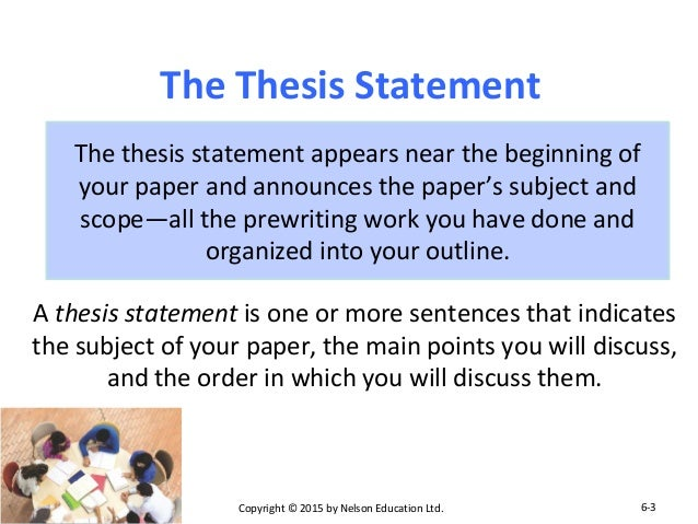 organizing a thesis statement Strengthening introduction, thesis statement, and organization (english iii  research) resource id:e3rsm5l01 grade range:9–12.