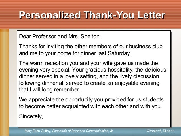 Gallery Of Thanks Letter To Professor