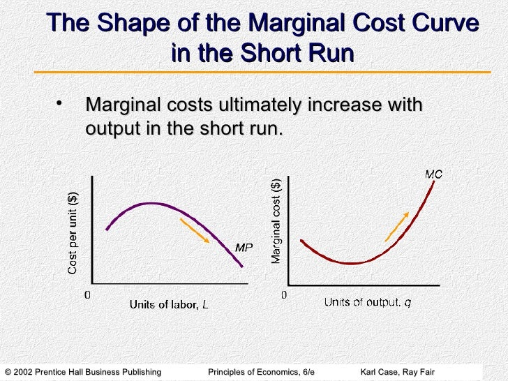 Short Run Marginal Cost Curve Short-Run Costs and Ou...