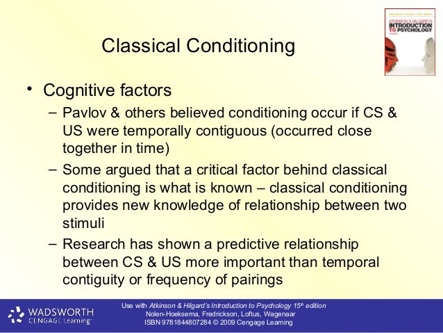 relationship between phobias and classical conditioning