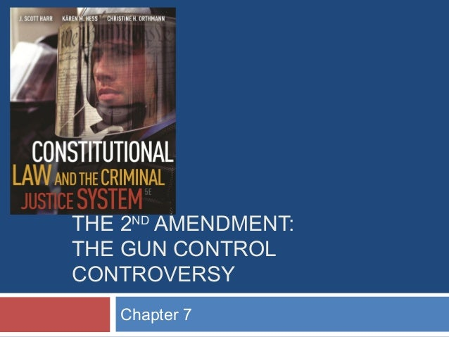 THE 2ND AMENDMENT: THE GUN CONTROL CONTROVERSY Chapter 7