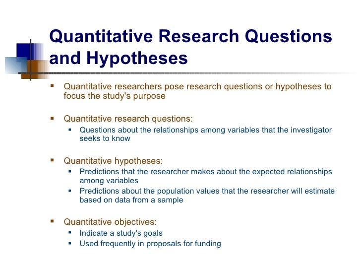 hypothesis for research paper