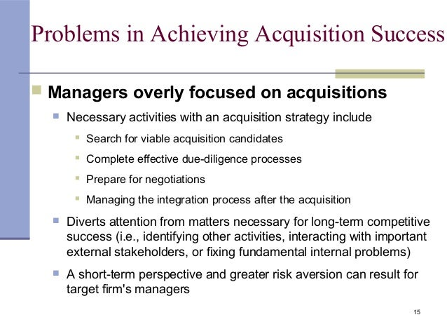 swot for merger acquisition strategy Less than a decade after the frantic merger activity of the late 1960s, we are again in the midst of a major wave of corporate acquisitions in contrast to the 1960s, when acquirers were mainly.