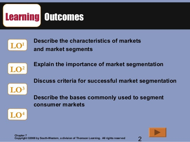 loreals segmenting and targeting markets Market segmentation is a marketing concept which divides the complete market set up into smaller subsets comprising of consumers with a similar taste, demand and preference a market segment.