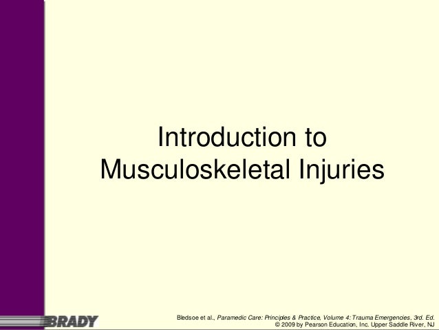 Musculoskeletal Anatomy Introduction: Module One