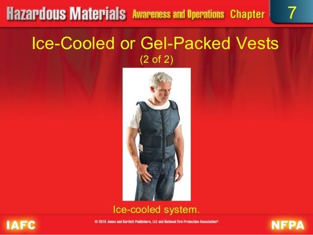 Disposable Cool Vest with Nontoxic Cooling Packs - Glacier ... |Cool Hazmat Vest