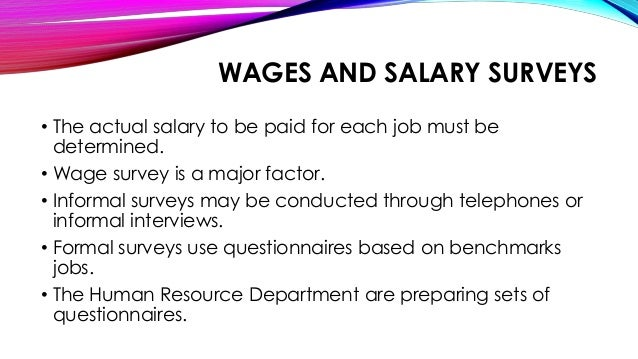 literature review on wage and salary administration Keywords: wages, salaries, motivation, employer, employee, compensation,  african 1 introduction  the review of literature focused on the following areas.