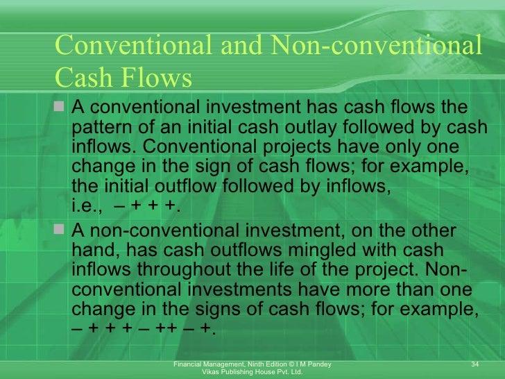 unconventional cash flow