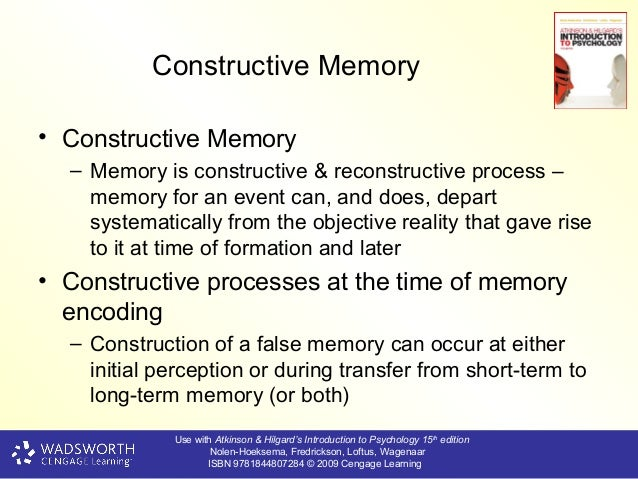 reconstructive memory What does reconstructive memory mean here you find 2 meanings of the word reconstructive memory you can also add a definition of reconstructive memory yourself.