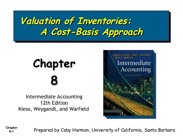 Valuation of Inventories: Valuation of Inventories: A Cost-Basis Approach A Cost-Basis Approach  Chapter  8 Intermediate A...