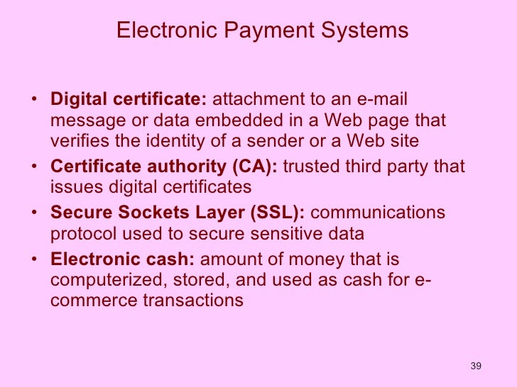 an analysis of development of electronic money in payment systems Straddling sectors: the micro level regulation of electronic payment systems in zambia by grace samui a dissertation submitted to the university of zambia in partial fulfilment of the.