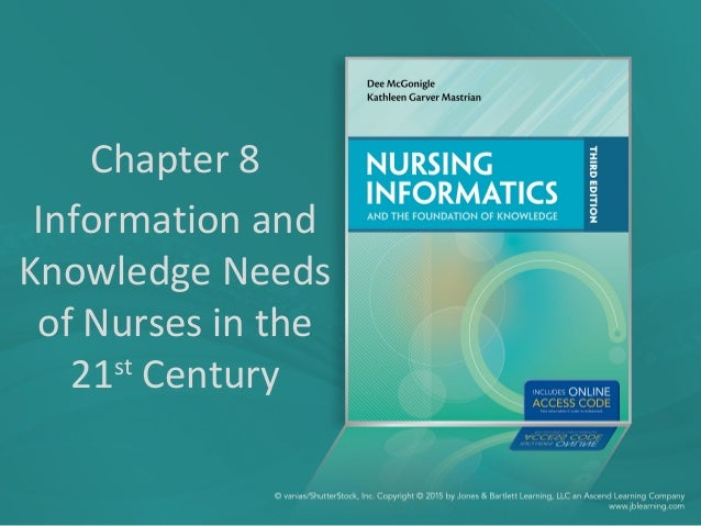 Chapter 8 Information and Knowledge Needs of Nurses in the 21st Century