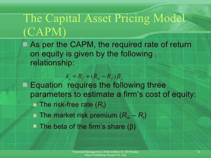 capm vs dividend growth model The dividend discount model (ddm) is a procedure for valuing the price of a stock by using predicted dividends and discounting them back to present value topics what's new health.