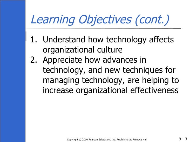 how culture affects organisation