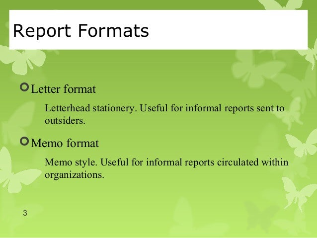 Informal reports progress report information reports feasibilit report formats letter spiritdancerdesigns Image collections