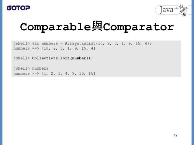 Comparable與Comparator 48
