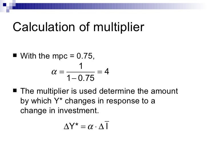 how to find the multiplier with mps